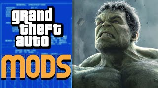 THE HULK in GTA 5! - Mod Gameplay