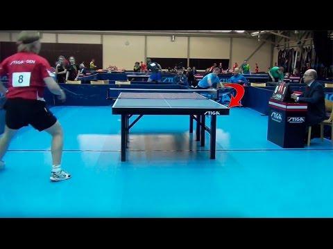 Unglaublicher Tischtennis