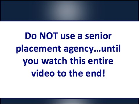 Do NOT Use a Senior Referral Placement Agency.. Until You Watch This - Senior Living Marketing