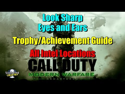 Call of Duty: Modern Warfare Remastered Trophy Guide & Road