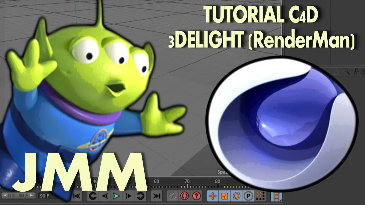 TUTORIAL C4D - 3DELIGHT (RenderMan)
