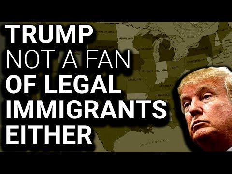 BREAKING: Trump to Limit Citizenship for LEGAL Immigrants
