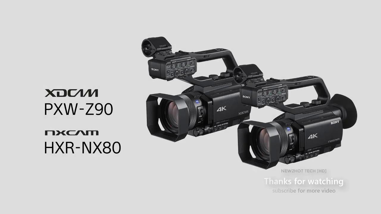 ผลการค้นหารูปภาพสำหรับ SONY PXW-Z90, SONY HXR-NX80