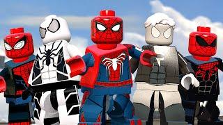 КОСТЮМЫ ПАУЧКА в LEGO Marvel's Avengers