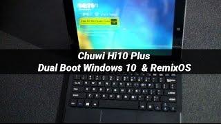 Chuwi Hi10 Plus Review Español - Windows 10 & RemixOS Dual Boot