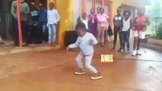 Little Girl In South Africa Is A Born Dancer