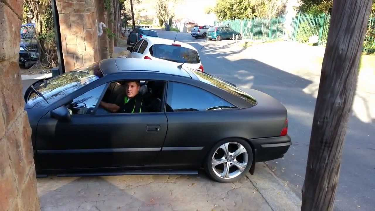 wrapz by rooster 39 s other toy opel calibra turbo charged. Black Bedroom Furniture Sets. Home Design Ideas