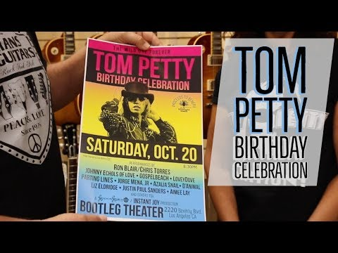 bcee21183 TOM PETTY Birthday Celebration Concert with Ron Blair and Many More!!! -  YouTube