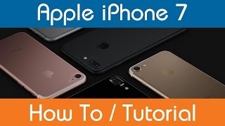 How To Sign Into iCloud - iPhone 7