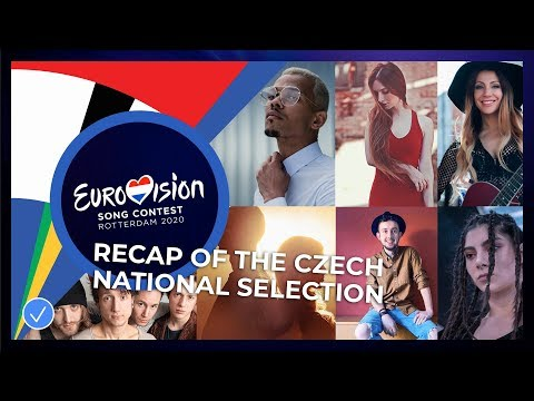 RECAP: Songs of the Czech national selection 🇨🇿 - Eurovision Song Contest 2020