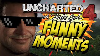 Uncharted 4 FUNNY moments!