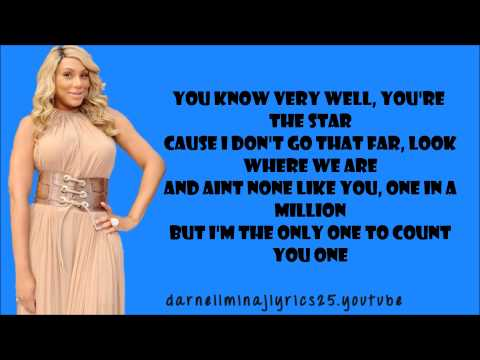 Tamar Braxton - The One Lyrics Video