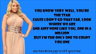 Tamar Braxton - The One Lyrics Video