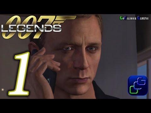 007 Legends Walkthrough - Gameplay Part 1 - Goldfinger: Auric Enterprises - Agent
