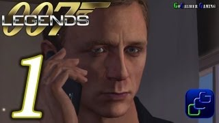 007 legends walkthrough gameplay part 1 goldfinger auric enterprises agent