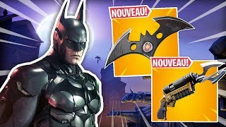 BATMAN DANS FORTNITE ! | Nouvelle arme & skin