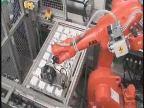 Abb Robotics Machine Tending Assembly Youtube
