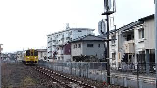 2019/3/2 普通列車(キハ125+キハ47)走行@豊後三芳~日田間