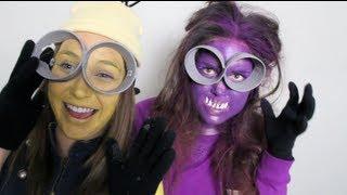 DIY- MINIONS COSTUME (yellow & purple) Thumbnail