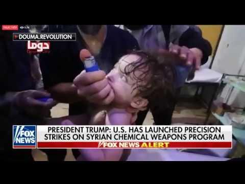"""Trực tiếp tin tức Mỹ đánh Syria !!! Liên minh Anh, Pháp  """"nhảy vào"""" cuộc chiến..."""