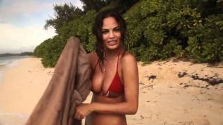 Chrissy Teigen Outtakes, Sports Illustrated Swimsuit 2012 Smacktalk...