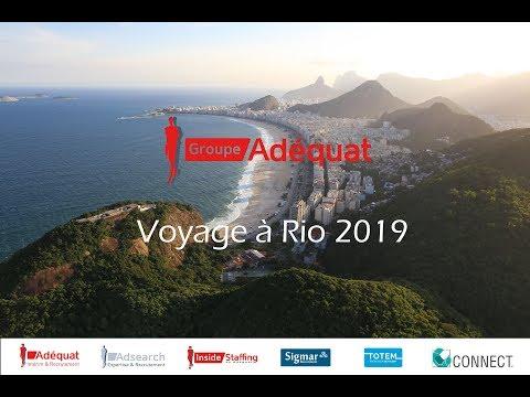 Voyage à Rio 2019