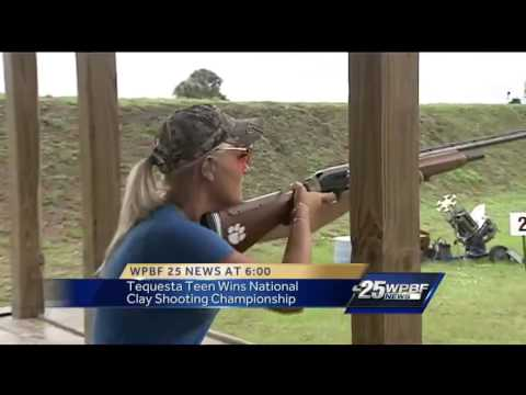 Woman, 18, named as top clay pigeon shooter