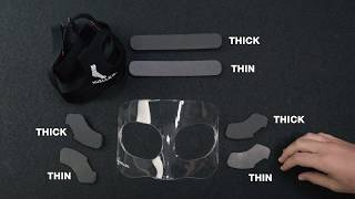Face Guard by Mueller Sports Medicine — Custom Padding