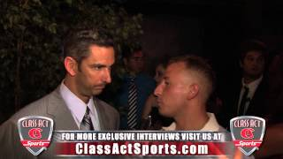 Jorge Posada All Star Interview w/ Jared Ginsberg of Class Act Sports