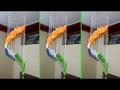 DIY Wind chimes || How To Make Windchimes || Independence Day - Decoration Ideas