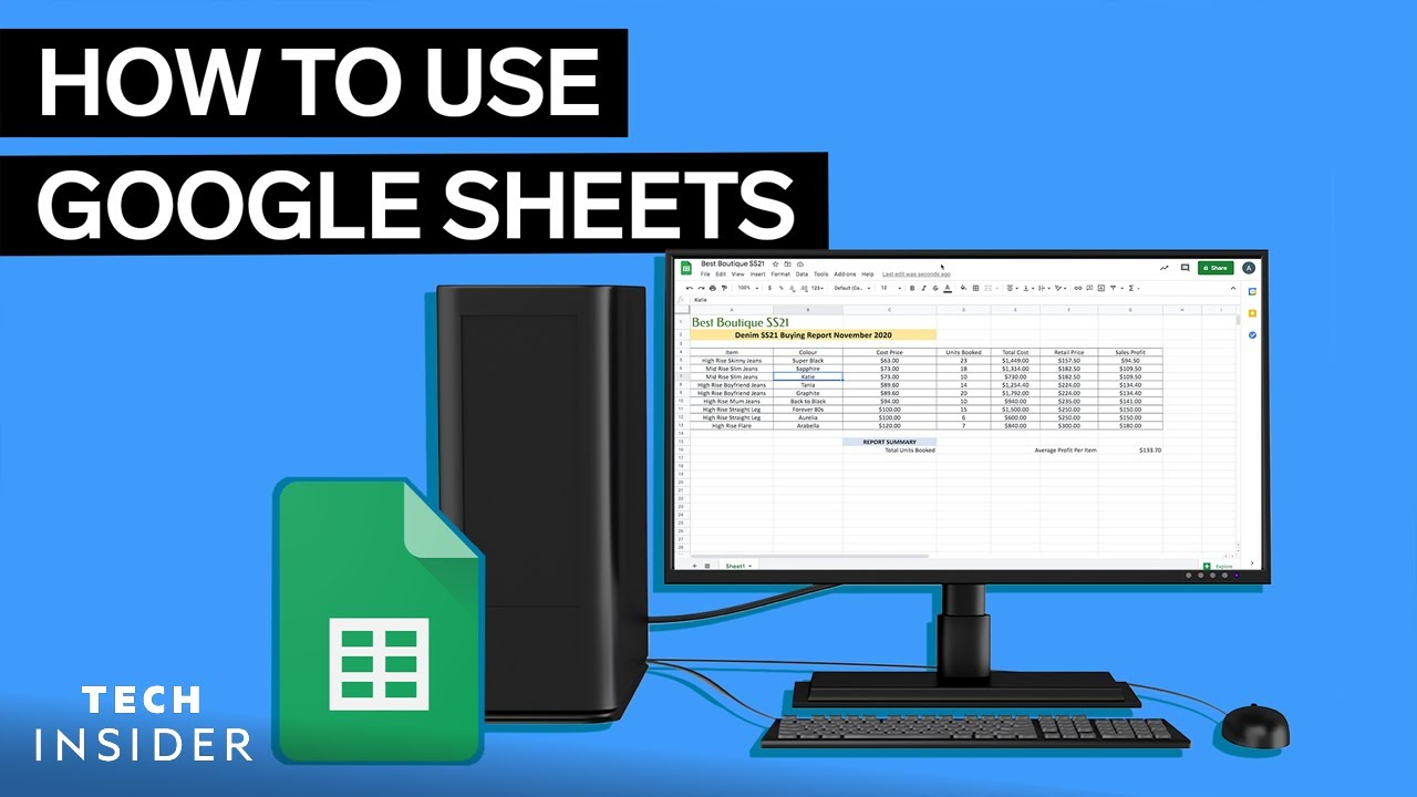 How to use Google Sheets
