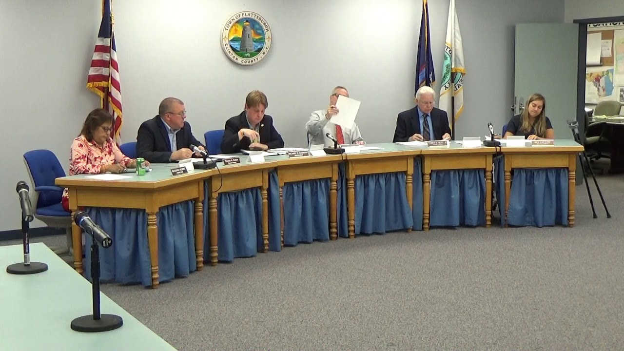 Town of Plattsburgh Meeting  7-19-18