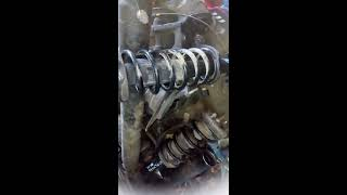 Как затянуть шкив коленвала на МКПП на Mazda Demio DW