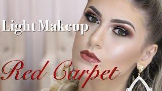 Red Carpet Makeup/Maquiagem de tapete vermelho - Por Camila Schmitz