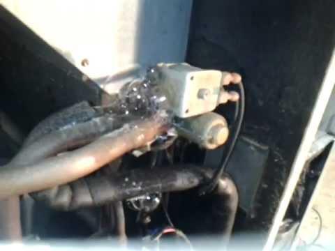 HVAC reversing valve leak  YouTube