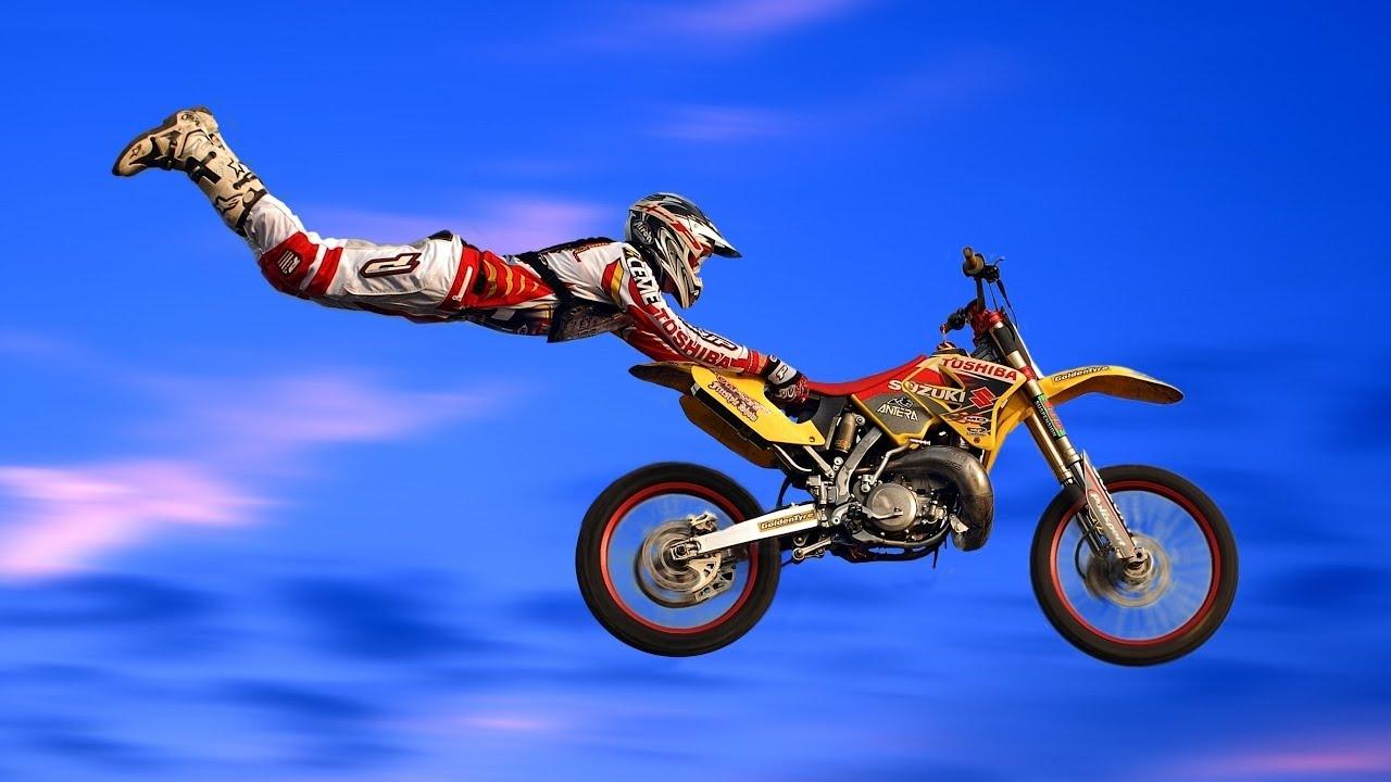 motocross e um esporte perigoso