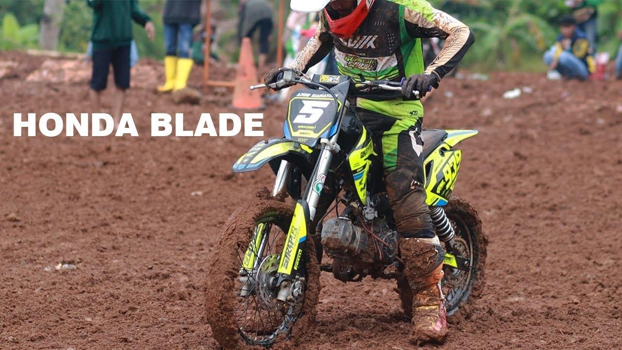 Sesi Latihan Start di Musim Hujan..Blayeran 2 Tak dan Limitan 4Tak Honda Blade Bikin Nagih!