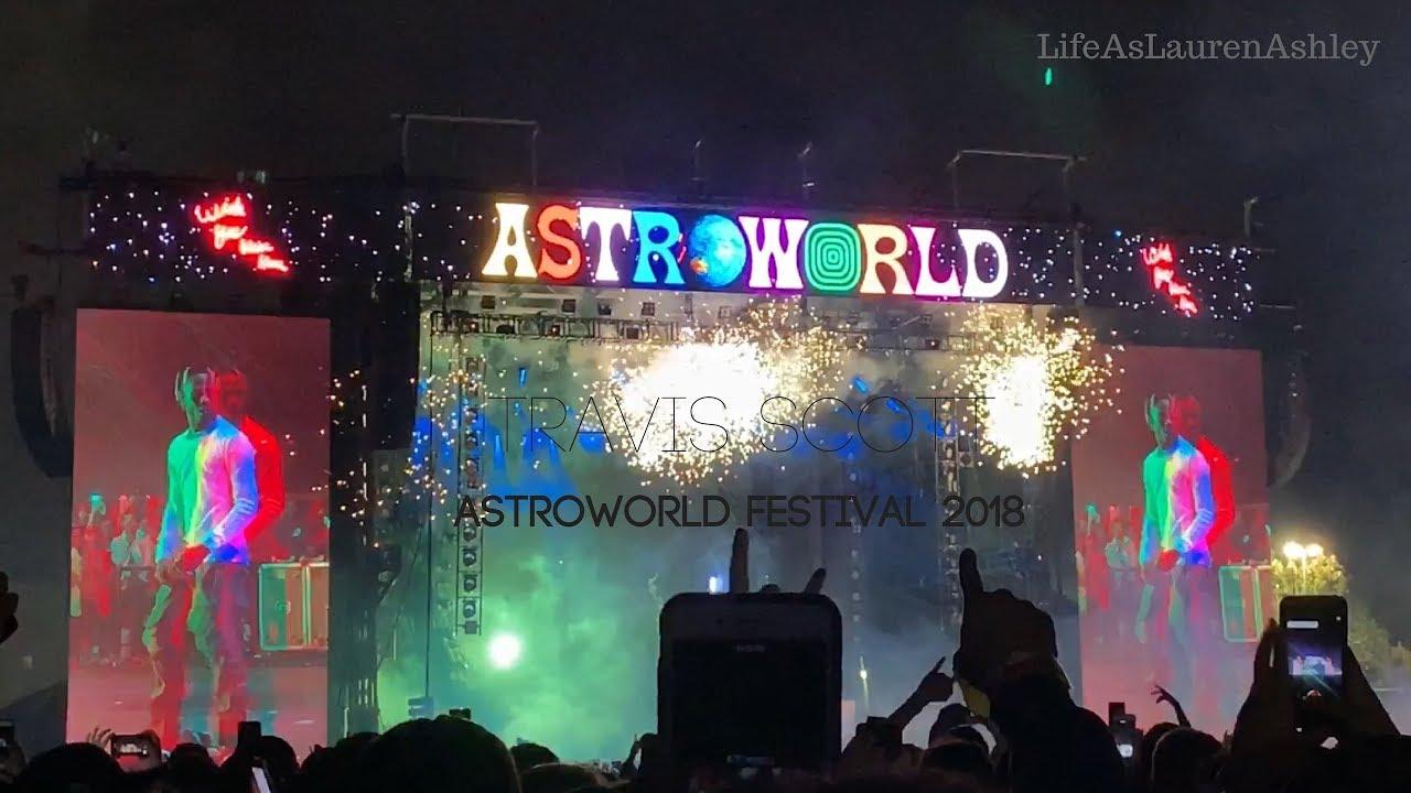 Travis Scott Announces ASTROWORLD Festival 2019