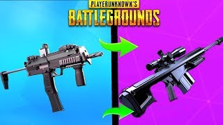 5 NEW BEST GUNS IN PUBG THAT COULD BE ADDED IN SOON! - PlayerUnknownsBattlegrounds New Weapons