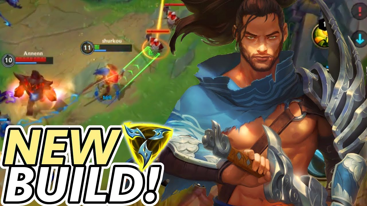 You HAVE to try this INSANE Yasuo Build in Wild Rift!