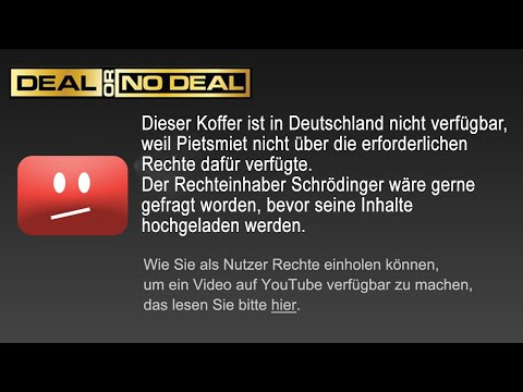 Uploadfilter Klauen Uns Die Million!  🎮 Deal Or No Deal #6