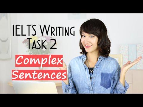IELTS Writing Complex Sentences