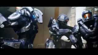 Halo Spartan Ops MV (Foo Fighters- The Pretender)