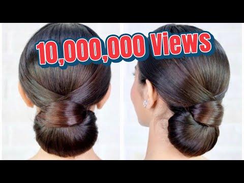Elegant Hairstyle, Bridal Updo Hairstyle Tutorial สอนเกล้าผม ทรงผมเจ้าสาวเรียบหรู โดย ครูหญิง ภัครา