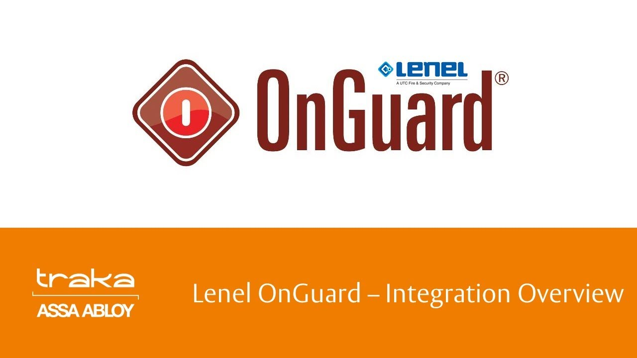 LENEL ONGUARD LOGIN DRIVER DOWNLOAD (2019)