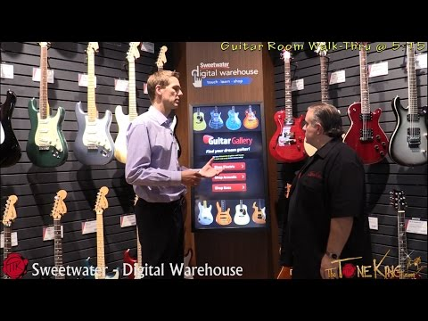 Explore Sweetwater's Digital Warehouse with The Tone King