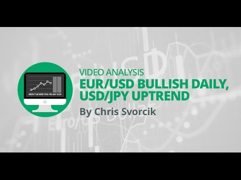 Weekly Forex Overview: EUR/USD bullish daily, USD/JPY uptrend