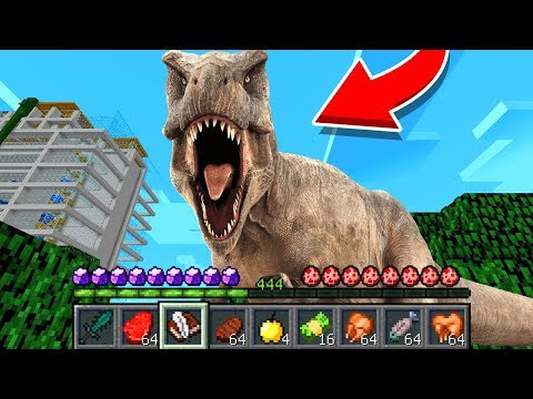 How To Play DINOSAUR In Minecraft! Real Life Family DINOSAUR! Battle NOOB VS PRO Animation