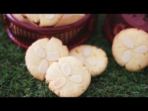 Orange Butter Cookies 香橙酥饼 ll Apron