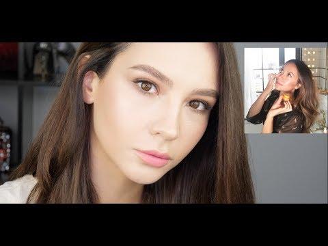 ВЛАЖНАЯ КОЖА / Повторяем макияж Голливудского визажиста Nam Vo